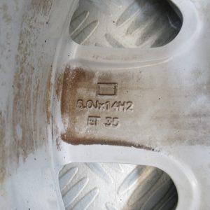 Jante Alu 14 pouce 4 trous 6.0Jx14 Fiat Punto 51721255