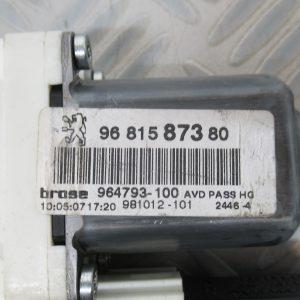 Moteur leve vitre AV D Peugeot 307 Phase 2 1,6ess 16v 109cv 9681587380 / 7746004701
