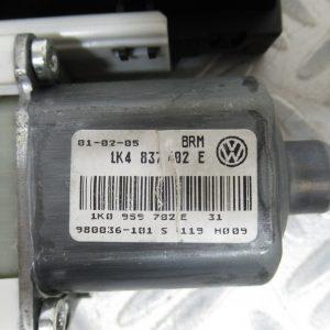 Moteur leve vitre AV D Volkswagen Golf 5 2,0 TFSI 200cv 1KA837402E / 1K0959792C