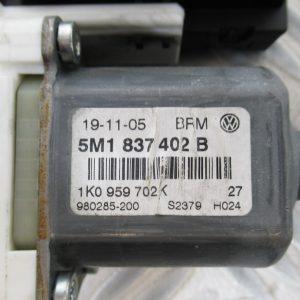 Moteur leve vitre AV D Volkswagen Golf 5 Plus 1,9 TDI 105cv 5M1837402B / 1K0959792G