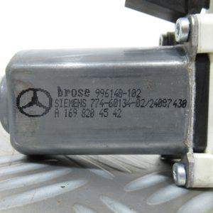Moteur leve vitre AR G Mercedes Classe A W169 200 CDI 140cv A1698204542 / 7746013402