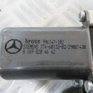 Moteur leve vitre AR D Mercedes Classe A W169 200 CDI 140cv A1698204642 / 7746013302