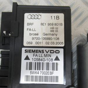 Moteur leve vitre AV G Audi A4 B7 0130821765 / 8E1959801B