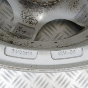 Jante Alu 14 pouce Tornade 4 trous 51/2Jx14 Peugeot 206