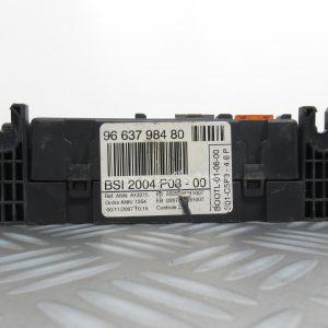 Boitier BSI Valeo Peugeot 207 1.6 HDI 9663798480 / BSI2004P08-00