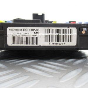 Boitier BSI Siemens Peugeot 206 9657999780 / S118085220F
