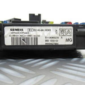 Boitier BSI Siemens Peugeot 206 1.1L HDI 9649627880 / S118085220A