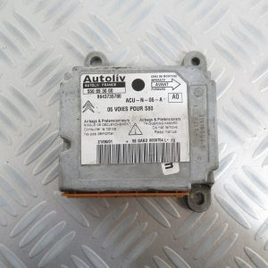 Calculateur d'airbag Autoliv Citroen Berlingo 9643735780 / 550893000