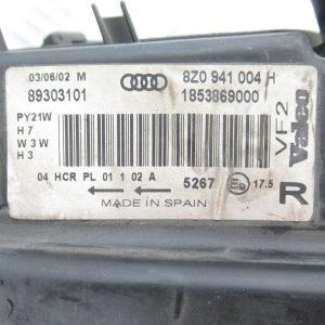 Optique avant droit Valeo Audi A2 89303101