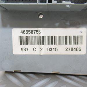 Boitier Fusibles Alfa Romeo 147 1.6L Ess  46558758