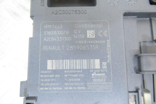Lecteur de Carte Continental Renault Clio 4  1.2L Ess  2855906535R