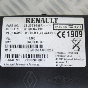Boitier télématique pour téléphone Renault Kangoo 2 282759288R
