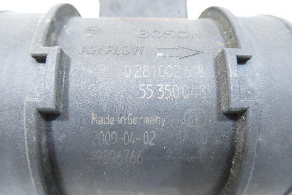 Débitmètre Opel Astra H (55350048)