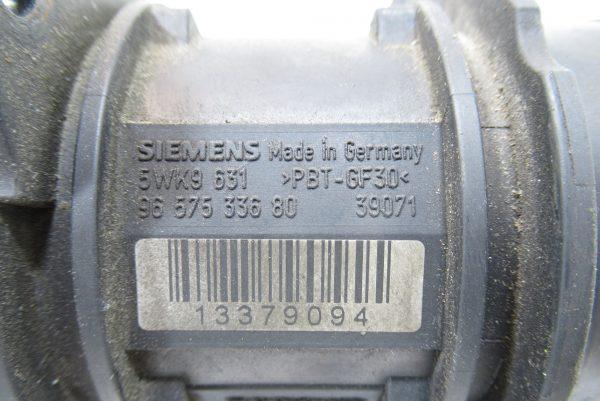 Débitmètre Citroën C3 (9657533680)