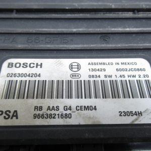 Boitier de gestion de stationnement Bosch Peugeot 308  9663821680