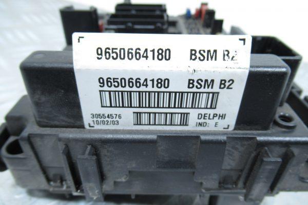 Boitier BSM B3 9650664180 Peugeot 206