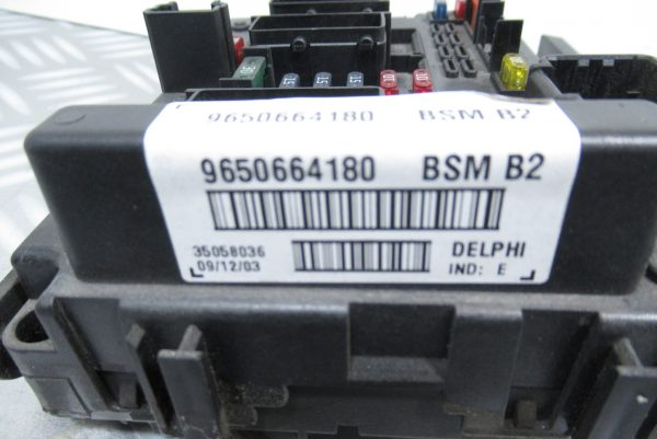 Boitier BSM B2 9650664180 Peugeot ou Citroen