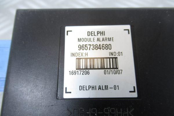 Boitier d'alarme Delphi Peugeot 207 9657384680