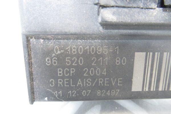 Relais de préchauffage Peugeot 207 / 9652021180