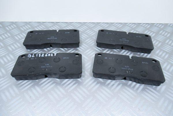 Plaquettes de frein avant Iveco EuroCargo BL1726A2