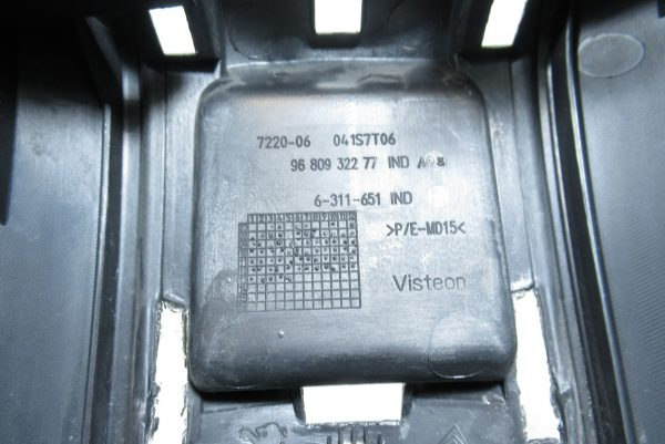 Console centrale Citroen Berlingo 2 9680932277
