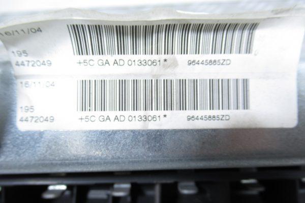 Airbag genoux AVG Peugeot 407 964458852D