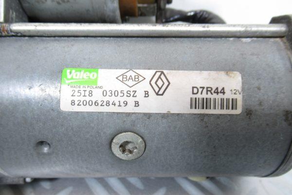 Demarreur Valeo Renault Scenic 2 8200628419