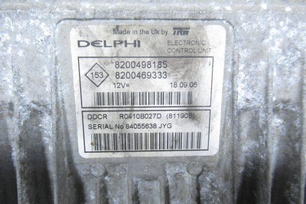 Kit de demarrage Renault Clio 2 PH2 8200498185