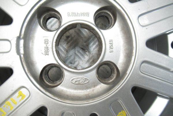 Jantes alu Ford Fiesta 4 trous 14 pouces