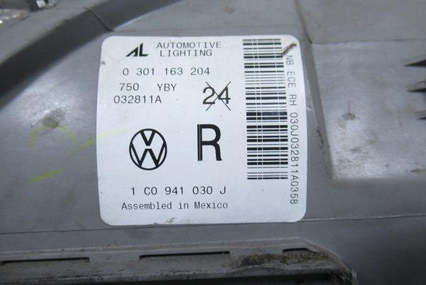 Optique avant droit Volkswagen New Beetle 1 PH1