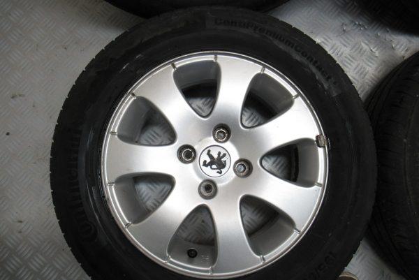 Jante Alu x4 Peugeot 307 195×65 R15