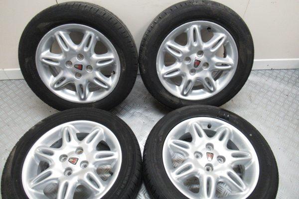 Jante Alu x 4 Rover 25 Rover 45 195×55 R15
