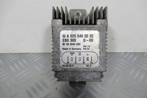 Relais Ventilateur Mercedes Classe A A0255453232
