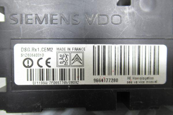 Boîtier Pression pneu Siemens Peugeot 207 9664177280