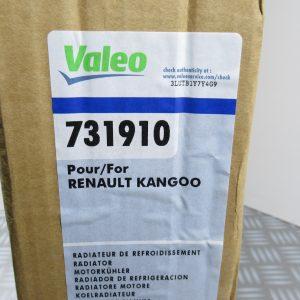 Radiateur Valeo Renault Kangoo 1 731910