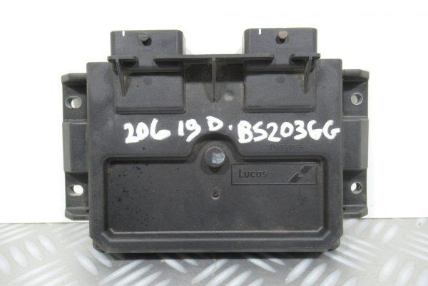Calculateur Moteur Peugeot 206 1.9 D 9640899880