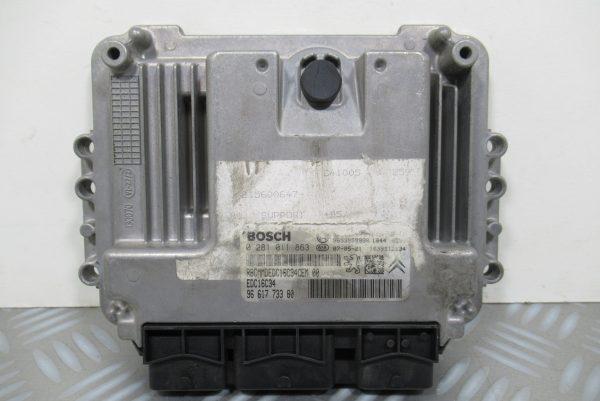 Calculateur Moteur Citroen C4 1.6L HDI 9661773380