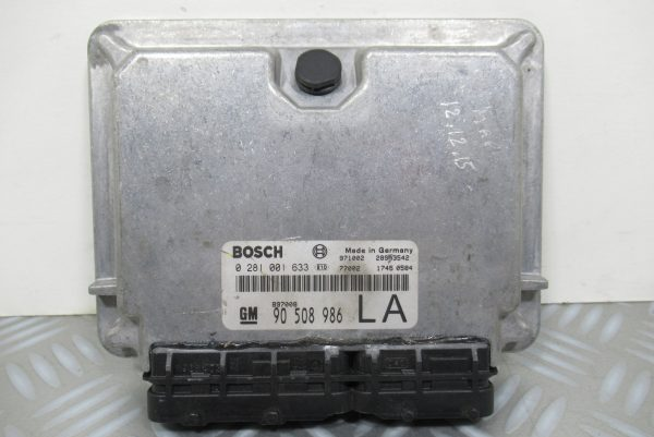 Calculateur Moteur Opel Vectra B 0281001633