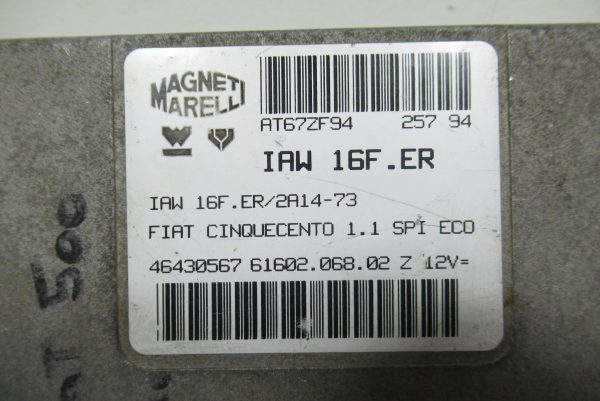 Calculateur Moteur Fiat Cinquecento IAW16F.ER
