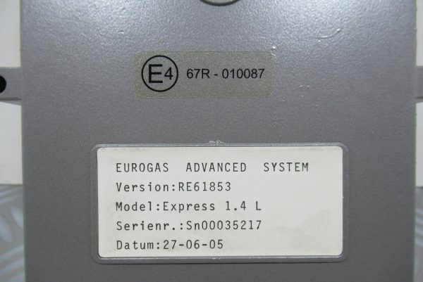 Calculateur Boîtier GPL Renault Express  67R-010087