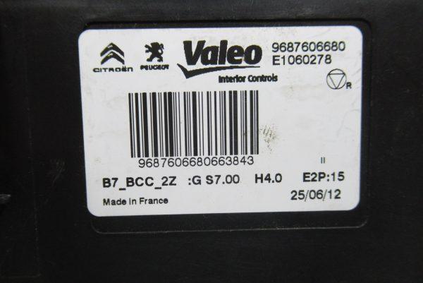 Module de Climatisation Valeo Citroën C4 II  9687606680