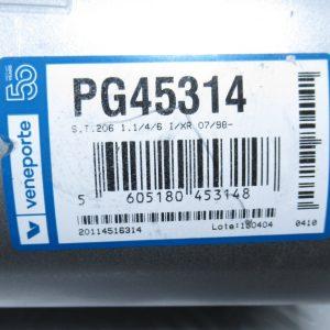 Silencieux d'échappement Veneporte Peugeot 206 PG45214