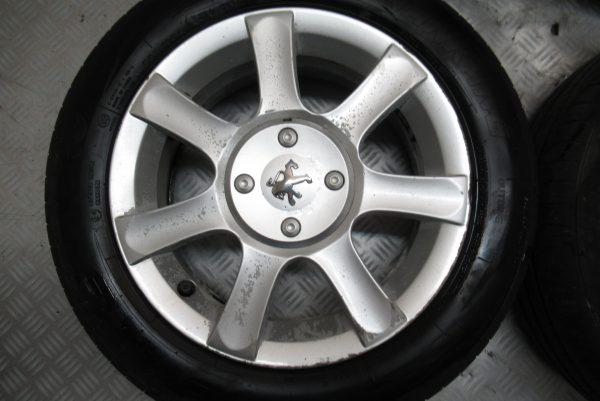 Jante alu X4 Peugeot 1007 185X60 R15