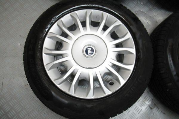 Jantes alu X4 Fiat Punto 14 pouces 185X60 R14