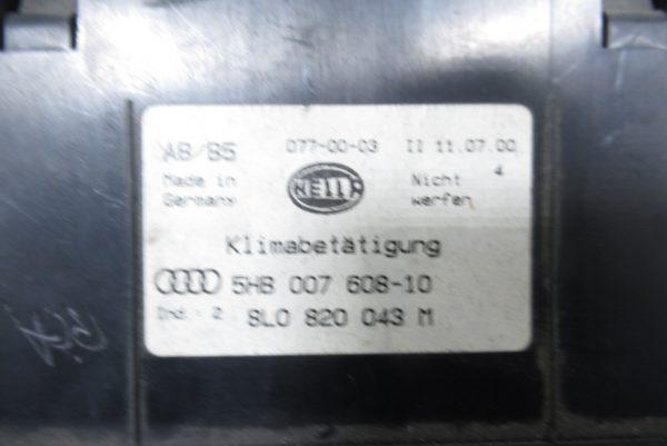 Commande de chauffage Audi A4 B5 5HB00760810