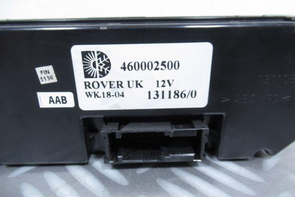 Commande de chauffage Rover 45 460002500