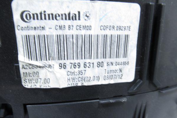 Compteur kilometrique Citroen C4 2 1.6 HDI BVA 9676963180