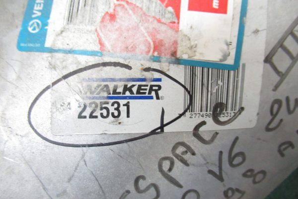 Silencieux arrière d'echappement Walker Renault Espace 3 22531