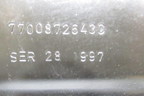 carter d'huile moteur Renault Megane 1 7700872643C