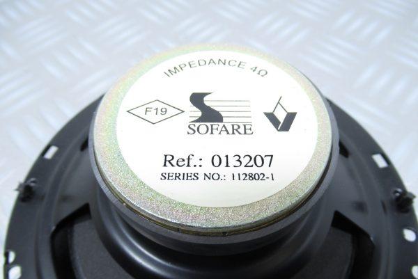 Haut parleur Renault // 013207
